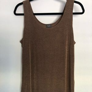 Chicos Stretchy Brown Tank